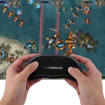 Harga VR SHINECON Wireless Bluetooth Game Remote Controller Handle Gamepad - intl