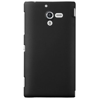 Harga Pc Back Cover for Sony Xperia ZL L35h (Black)
