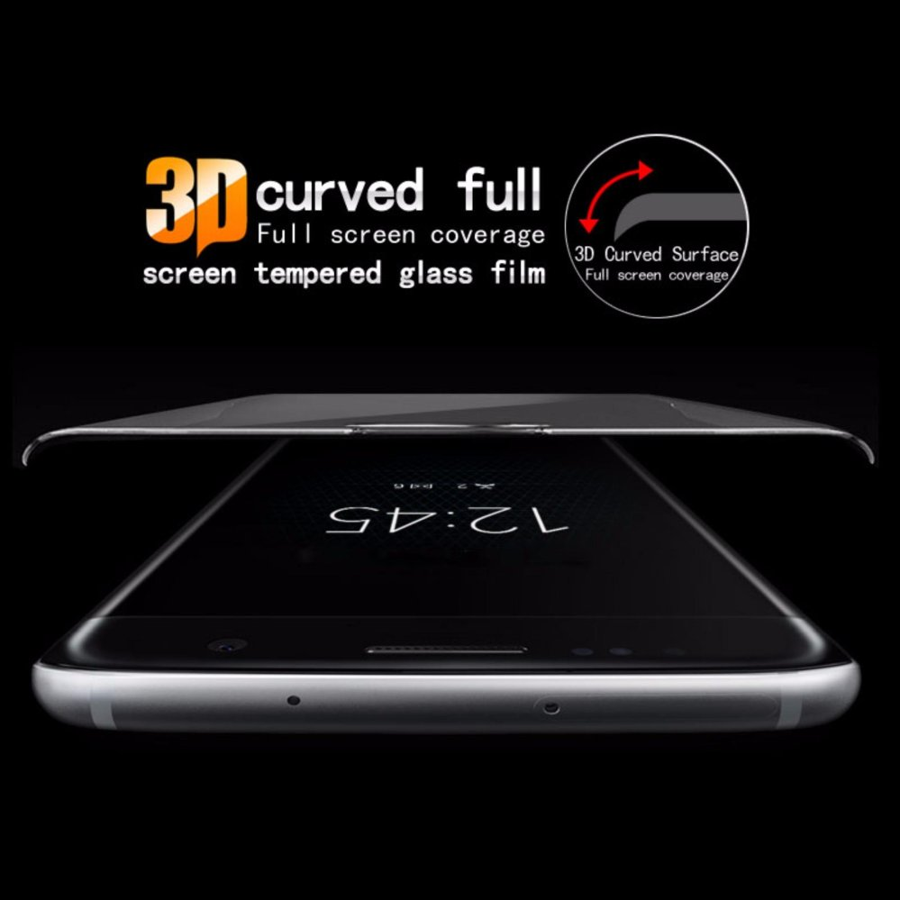 Imak 3D Curved Tempered Glass Protector For Sony Xperia XA1 ScreenGlass Film For .