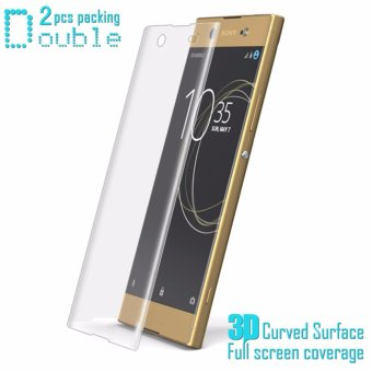 IMAK Full Screen Soft Tempered Glass Protector Film For Sony XperiaXA1 Ultra Soft Protector Film For Sony Xperia XA1 Ultra - intl