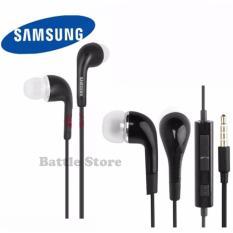 In-Ear J5 Earphone Earbuds Headphone Handsfree Earphones With Mic Volume For SAMSUNG GALAXY S3 S4 S5 Note 3 - Hitam