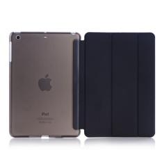 iPad 2017 I Pad 9 7 Inci / Saya Pad Udara (Ipad 5) Case Bearbay-New. Ringan Smart Case Lipat Tiga Berdiri Dengan Auto Tidur Wake Fungsi Microfiber Lining Hard Kembali Cover Untuk Apple Baru I Pad 9 7 Inci /Ipad Udara (Ipad 5) (Hitam)
