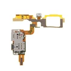 IPartsBuy Charging Port FLEX Cable + Pembaca Kartu SIM Hubungi Penggantian untuk vivo X5Max V dan X5Max +-Intl