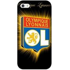 IPhone 6 Plus/6 S Plus Lyon Kasus Klub Sepak Bola, Shockproof Silicone Impact Rugged Armor Defender Case Cover untuk IPhone 6 Plus/6 S Plus-Intl