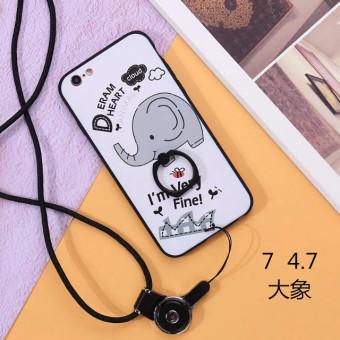 Gambar Iphone6 6 plus iphone7 7plus menjatuhkan resistensi lengan pelindung shell telepon