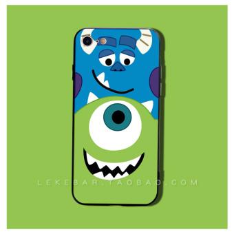 HARGA Iphone77splus rambut lucu beberapa kartun mata besar aberdeen lengan pelindung shell telepon TERPOPULER