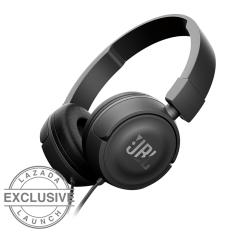 JBL T450 On-Ear Headphone- Hitam