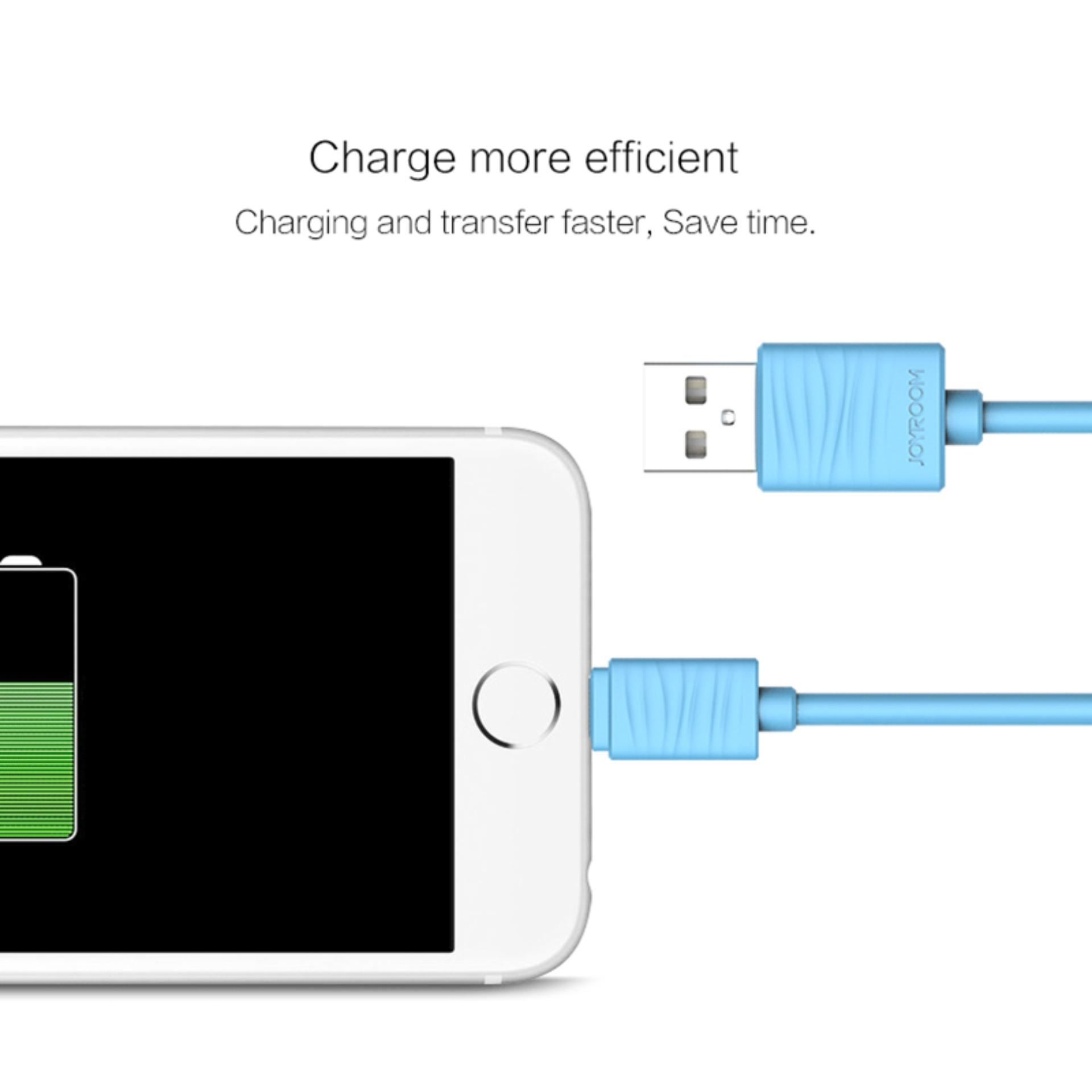 Joyroom USB Cable for iPhone 6 Fast Charger Data Cable For iPhone5S 5 7 iPad Mobile ...