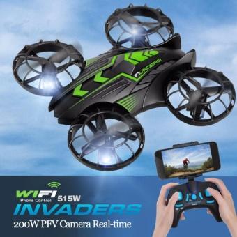 JXD 515W Invaders 0.3MP WIFI FPV Mini Drone Quadcopter W Altitude Hold Mode RTF