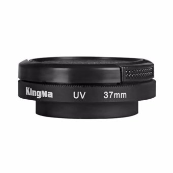 Harga Kingma UV Filter Lens 37MM with Cap for Xiaomi Yi 4K Version 2 -Hitam