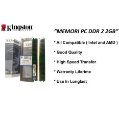 Kingston - Ddr 2 2Gb Kingston Ram Pc