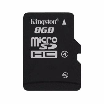 harga Kingston Micro SDHC 8GB (Single Package) SDC4/8GBSP - Hitam Lazada.co.id