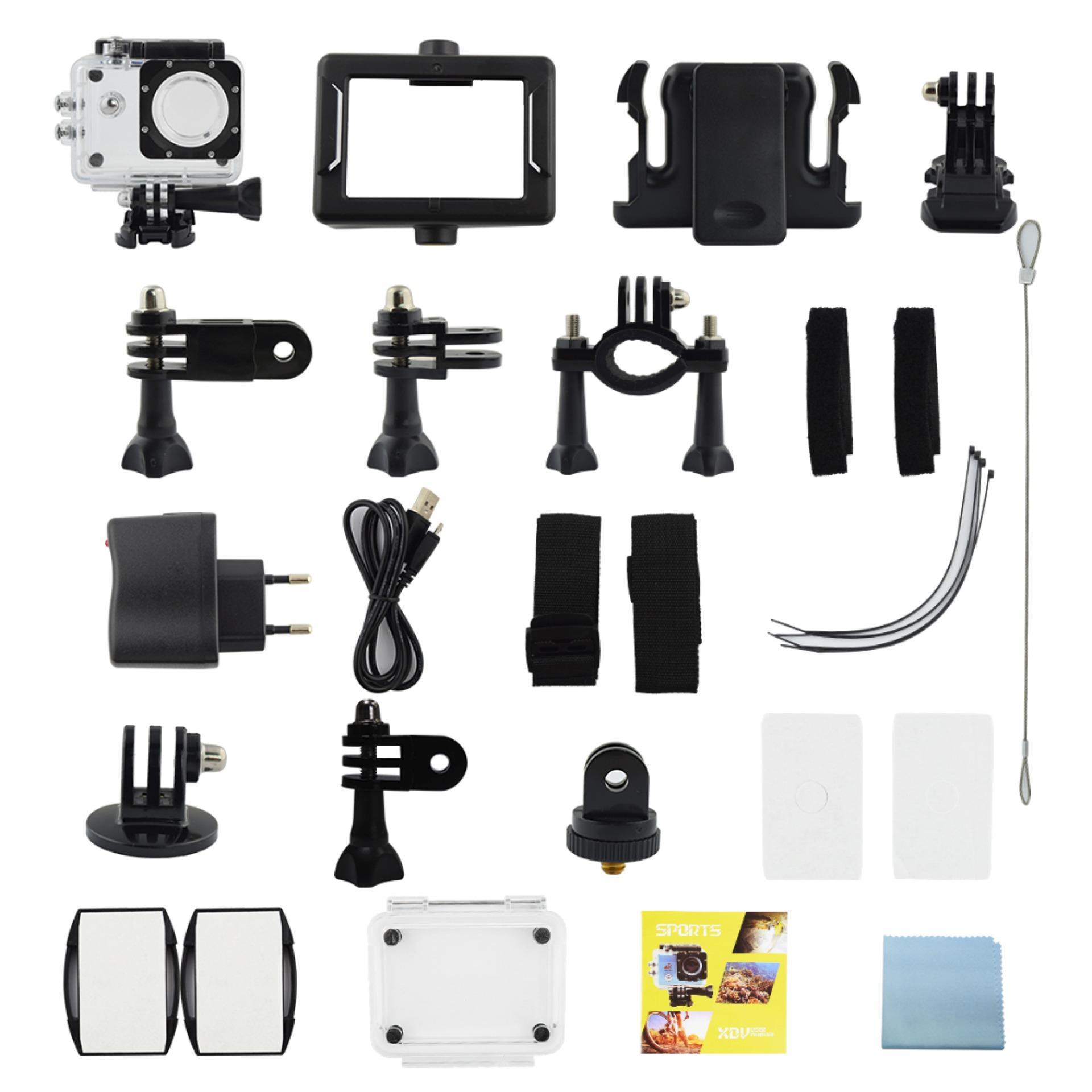 ... Kogan Action Camera 4K NV UltraHD - 16MP - Hitam - WIFI ...