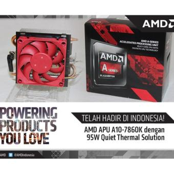 komputer Pc AMD Apu A10/8GB Ram/Vga R7/Hdd Sata 1Tb Packing Kayu
