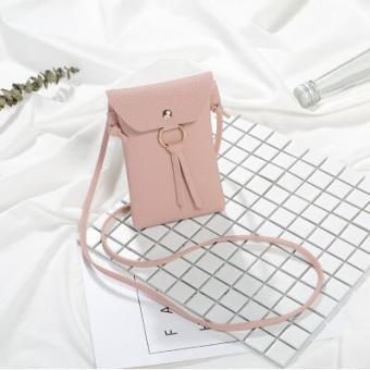 Q02 Korea Fashion Style Rumah Baru Kain Kartun Dompet Kecil Serangga Source · Korea Fashion Style mahasiswa dompet tas kecil handphone tas