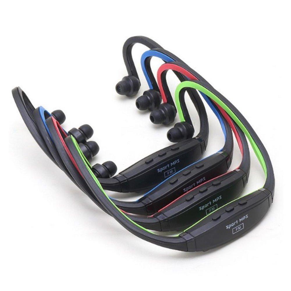 LALANG In-Ear headphone nirkabel Earphone untuk berlari Smartphone (biru) .