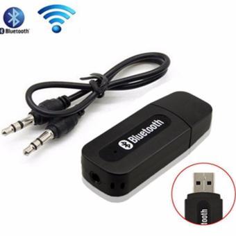 Laris 102 - Wirelless Stereo Audio Receiver Bluetooth Adapter USB atau USB Bluetooth -
