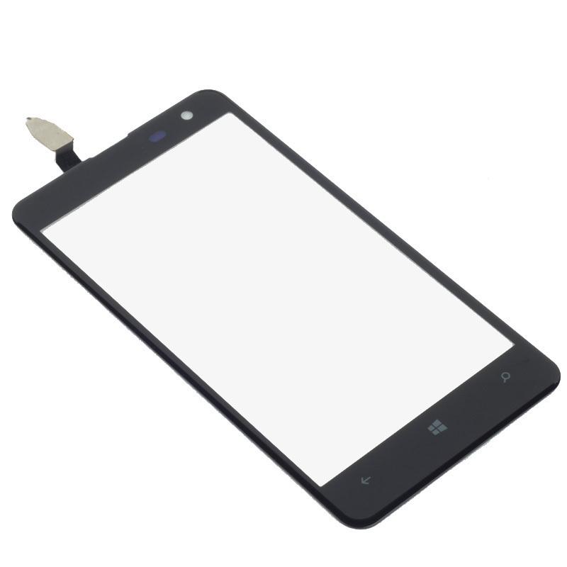 LCD Touch Digitizer layar untuk Nokia Lumia 625 Hitam .