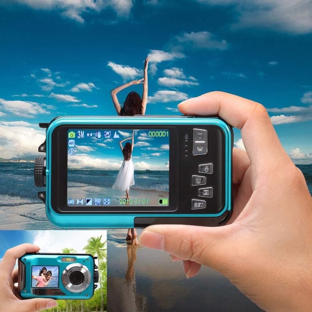 Daftar Harga Lcd Waterproof Sports Action Camera Double Monitor Panasonic Lumix Dmc Tz80 Hitam Direct Printlong Standby Intl