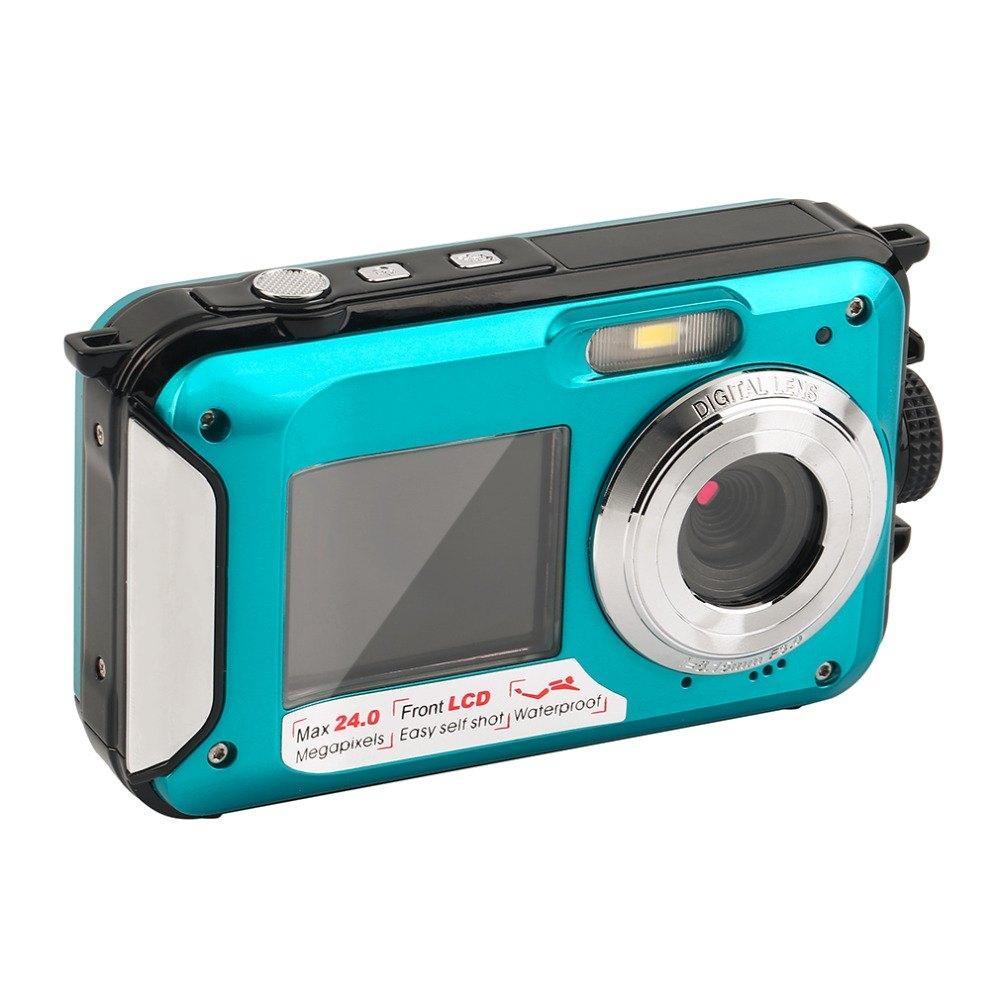 Online Murah Lcd Waterproof Sports Action Camera Double Monitor Panasonic Lumix Dmc Tz80 Hitam Direct Printlong Standby Intl