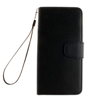 Leather Case Flip Stand Cover for Xiaomi Redmi Note 3 (Black)