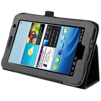 Leather Case for 7-Inch Samsung Galaxy Tab 2 P3100/P3110 (Black) - 2
