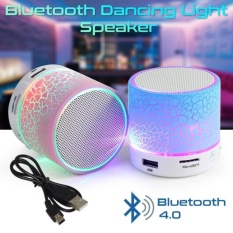 LED MINI Portable Wireless Bluetooth Speaker TF USB Music Sound Subwoofer Box - Random