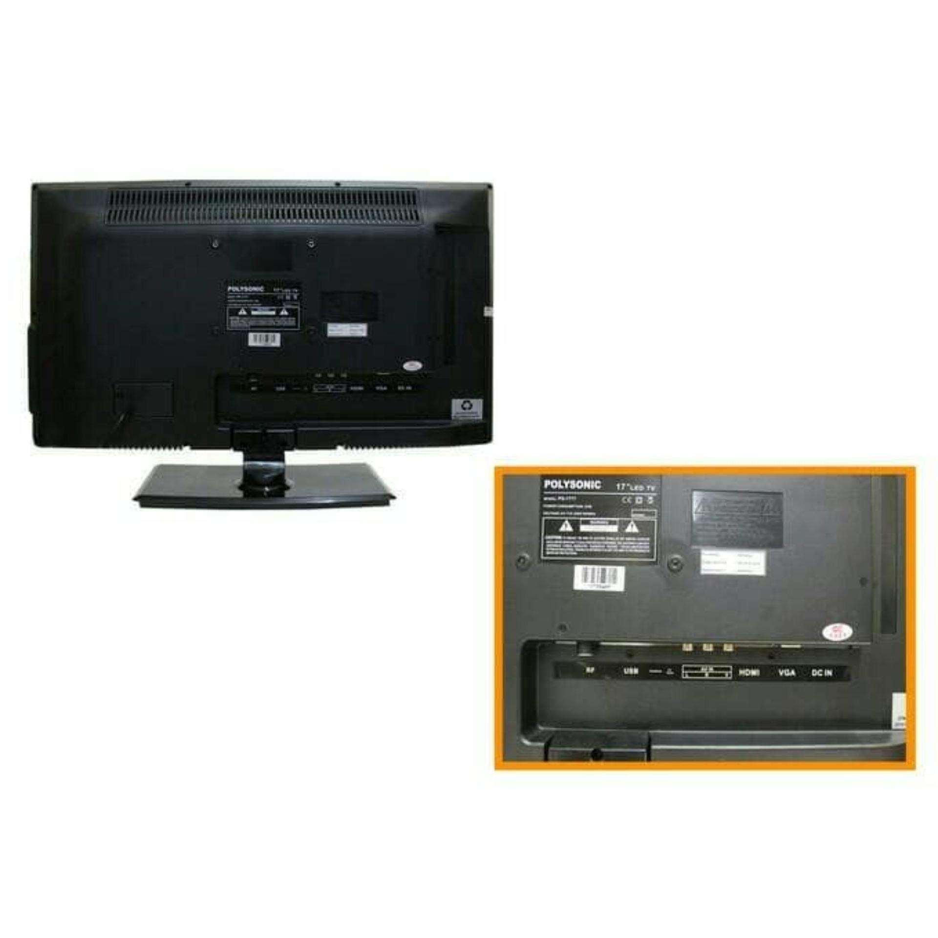 LED TV 19 inch Polysonic PS1892 Wide-Promo .