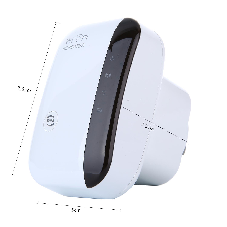 Leegoal 300Mbps Wifi pengulang Wireless-N Range Extender penguat sinyal AP Wifi .
