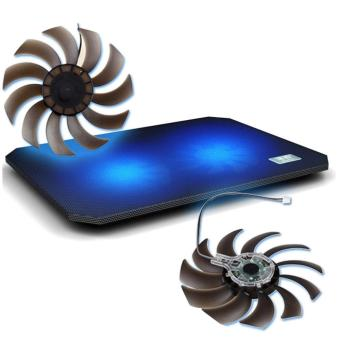 leegoal Laptop Cooling Cooler Pad - 2x Silent Fans - intl - 4