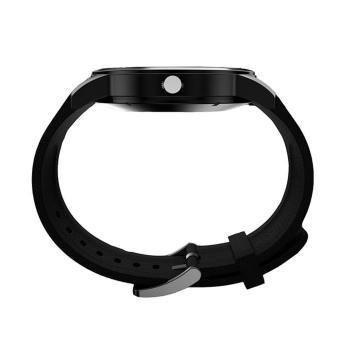 Detail Gambar Produk leegoal layar melingkar Bluetooth Smart gerakan kuarsa Perhiasan IP68 tahan air Perak Terlengkap
