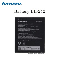 Lenovo Battery BL-242 Baterai For Lenovo A6000 kapasitas 2300mAh - Original