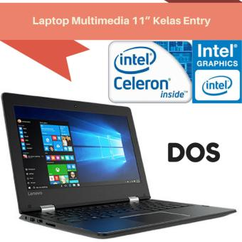 "Harga Saya Lenovo Ideapad 310S 1GID 80U4001GID - RAM 2GB - Intel Celeron N3350 - 500GB -11.6"" HD - DOS - Hitam Flash Sale"