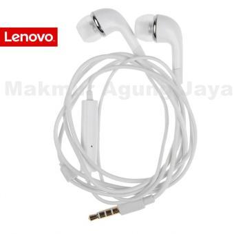 Lenovo K-900 Hansfree / Earphone / Hendsfree / Headset Super Bass Audio Earbud Earphones Universal Lenovo Type Handphones - Putih/White