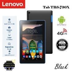 Lenovo Tab TB3-730X 4G LTE 2/16GB Black Garansi Resmi