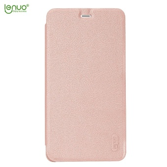 Lenuo Fashion PU phone bag soft leater case for Xiaomi Mi Max 2flip .