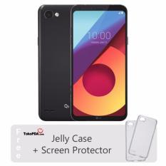 LG Q6 - FULL VISION - 3GB RAM - LTE - 32GB - Astro Black - Free Jelly Case & Screen Protector