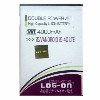 Log On Baterai Advan Vandroid i5 4G LTE - Double Power Battery -4000 mAh