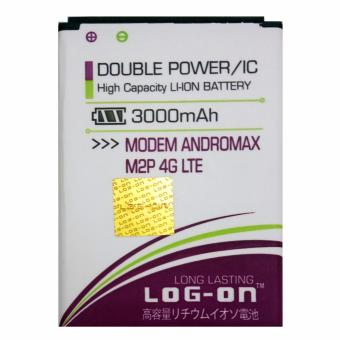 Log on Baterai Modem Smartfren Andromax M2P 4G LTE - Double Power -3000 mAh
