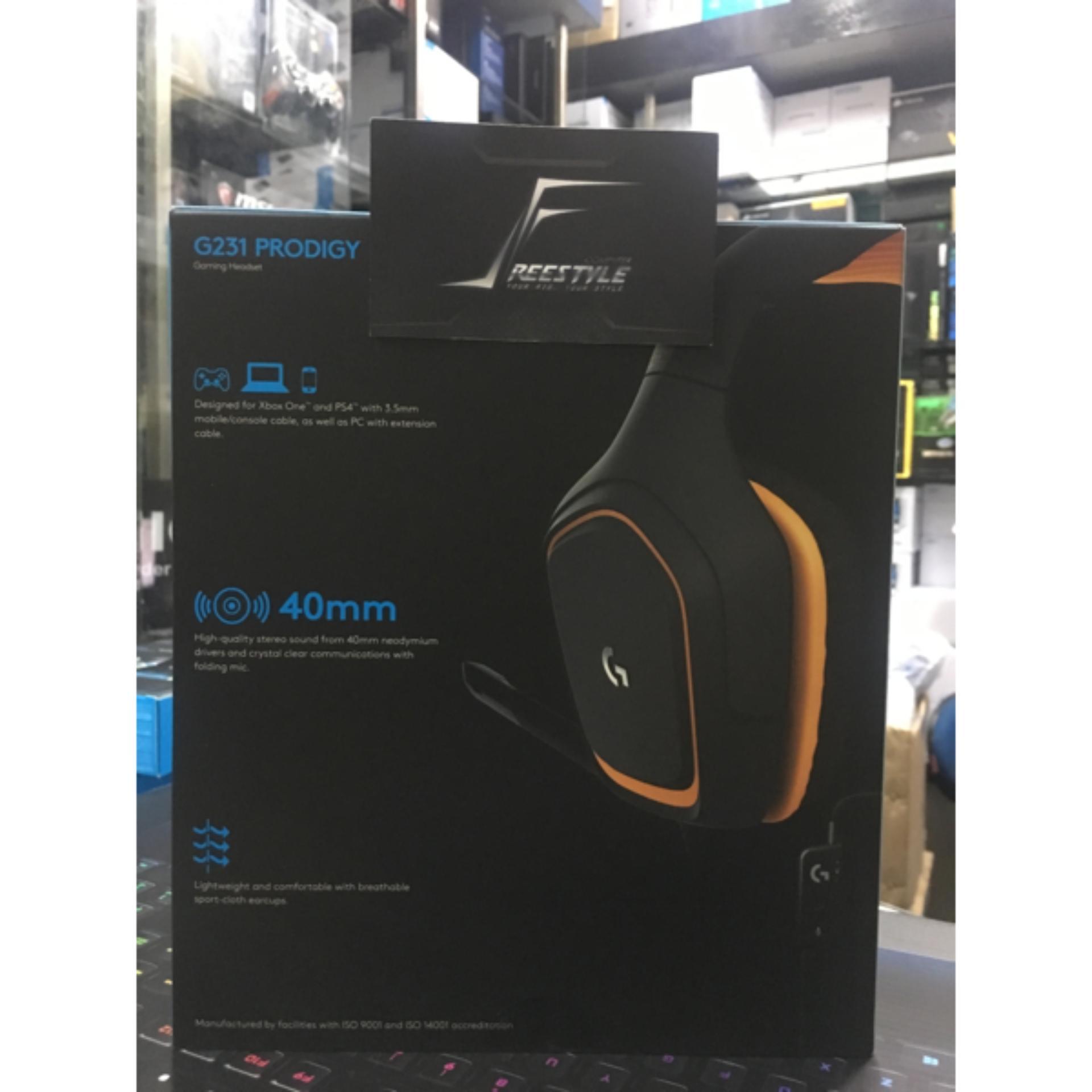 Online Murah Logitech G231 Prodigy Gaming Headset Garansi Resmi 2 Tahun Mouse G102 Indo Thn