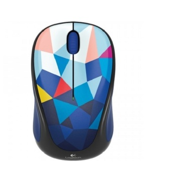 Logitech Wireless Mouse M238 Blue Facets - Multicolor