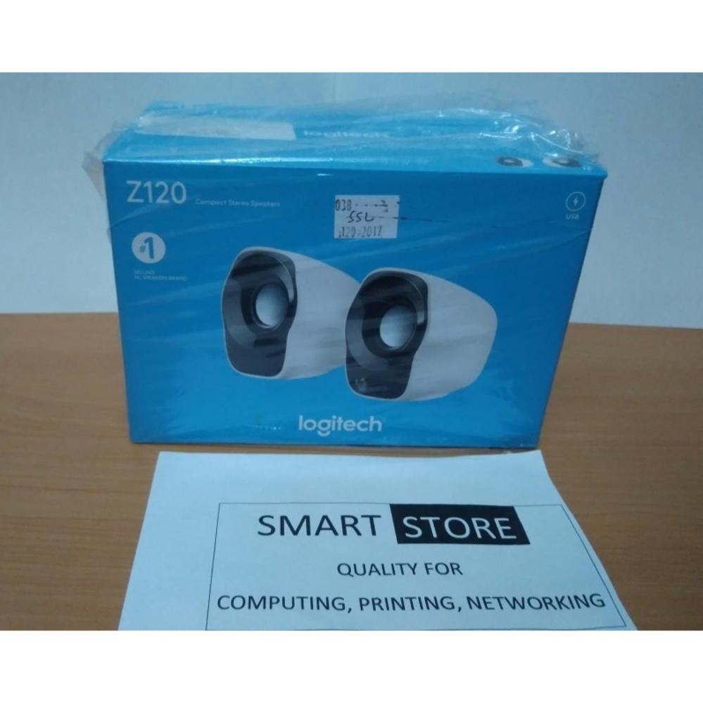 Logitech Z120 Speaker - Black White [Garansi Resmi] ...