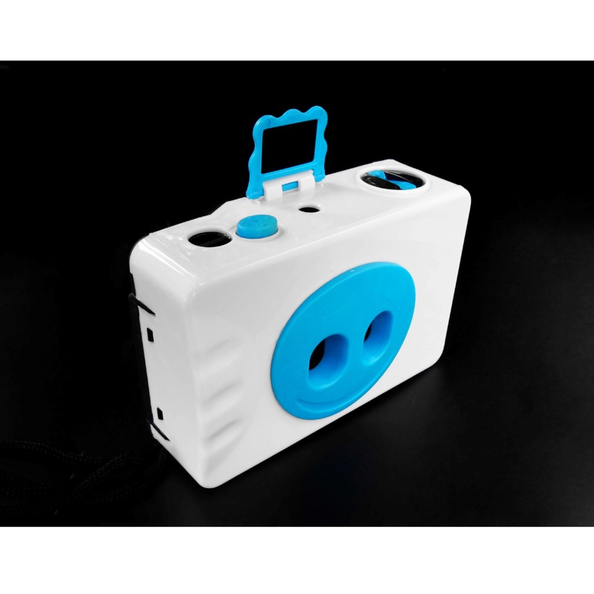 LOMO 35mm Multi Lens Action Camera 2 Lens - Putih/Biru