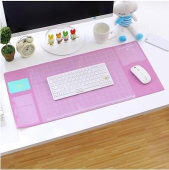 Luobudashu besar multifungsi komputer mouse tikar meja kerja tikar