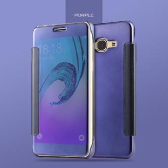 Gambar Luxury Smart Sleep Windows Case For Samsung Galaxy J3 Pro 5.0\