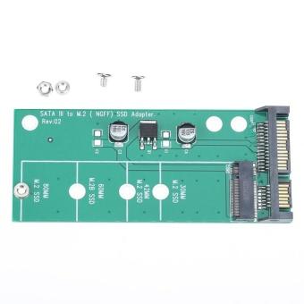 M.2 NGFF (SATA) SSD untuk SATA 3 SATA 2,5 Adaptor
