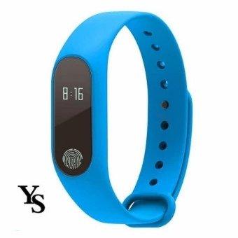 M2 Smart gelang Heart Rate Monitor Bluetooth Smartband kesehatan kebugaran Tracker Smart Band gelang untuk Android