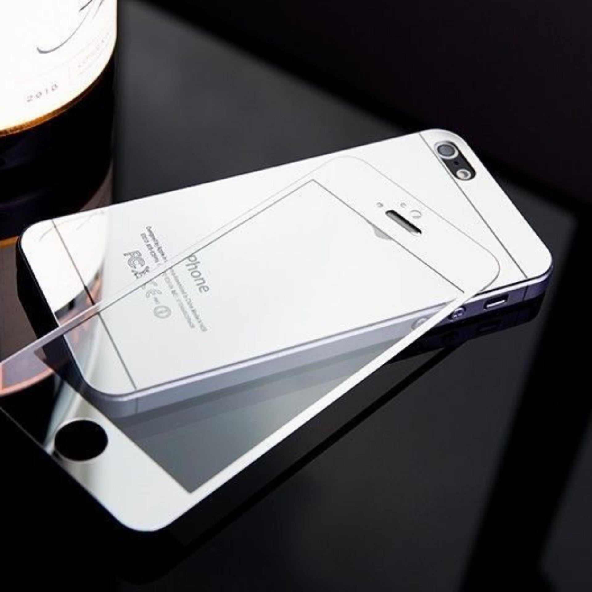 Magic Glass Iphone 5 / 5s / SE Electroplate Mirror Premium TemperedGlass by .
