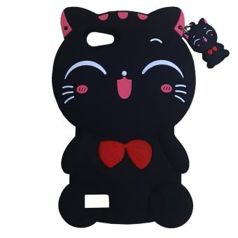 Marintri Case Oppo Neo7/A33 Little Cat - Black