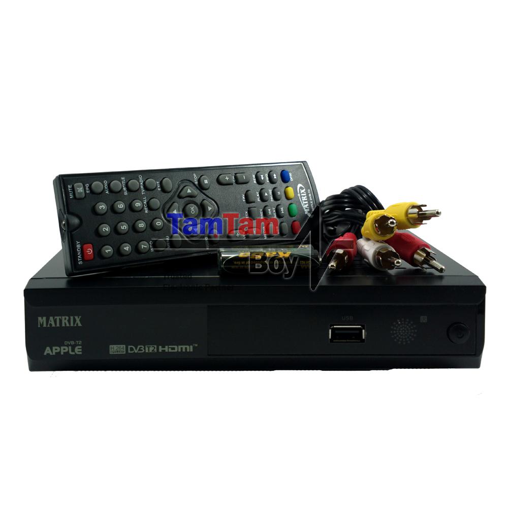 Matrix Apple New Set Top Box TV Digital DVB-T2 Dan Media .
